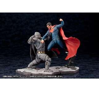 [SET] ARTFX+ STATUE Batman v Superman: Dawn of Justice Set (Batman + Superman)