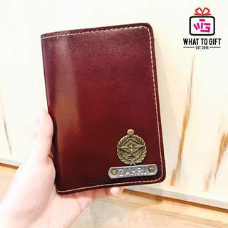Genuine Cow Leather Passport Cover
