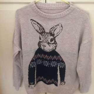 兔寶寶毛衣