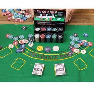 Poker chip for rent (Taxes holdem)