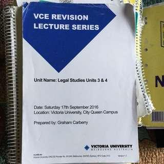 Legal studies Units 3&4 revision Lecture