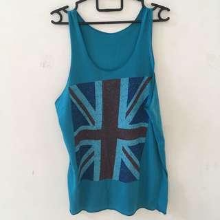 UK Flag Sleeveless