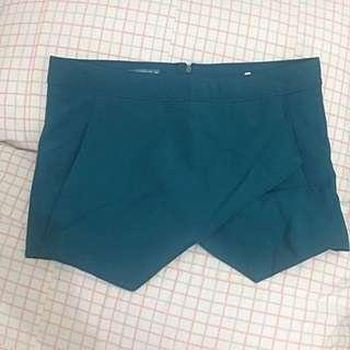 Terranova Blue Green Origami Shorts