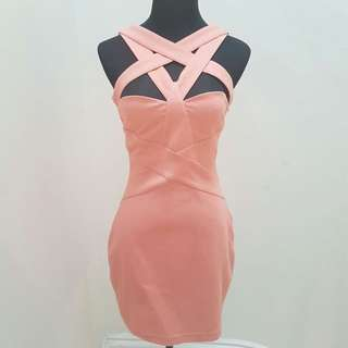 FINDERS KEEPERS short cutout dress