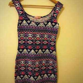 Aztec BOHO DESIGN Multicolour Dress