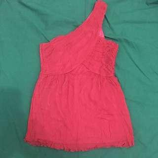 Venus Cut Fuchsia Pink Top