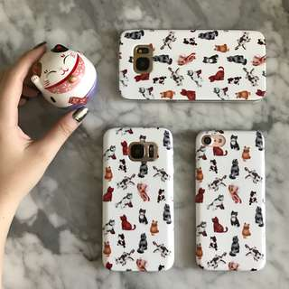 Cats Phone Customised Case