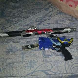 Kamen Rider Metal Memory And Rod (Free Trigger Gun)