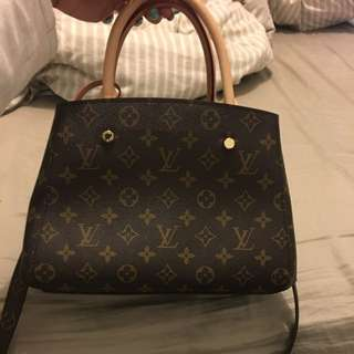 Brown LV Bag