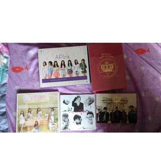 kpop albums, pc, and authentic signed photo