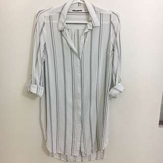 Milk and Honey Striped  Blouse