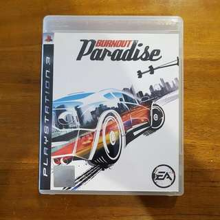 PS3 Game - Burnout Paradise