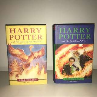 Harry Potter First Edition Books