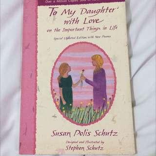 Mother Daughter Poetry Book
