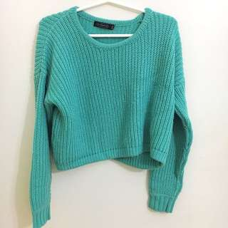 Glassons Junky Knit Sweater - Mint