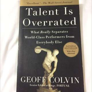 Talent Is Overrated (Non Fiction)