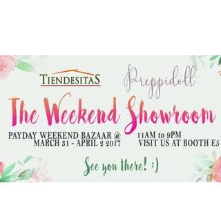 Tiendesitas The Weekend Showroom March 31 - April 2