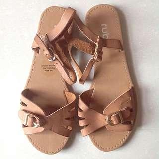 Brown Rubi Sandals