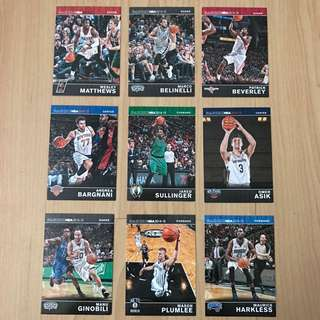 Panini NBA Card 9 Pcs Pack