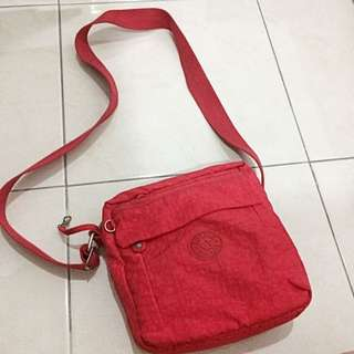 Kipling Sling Bag Red