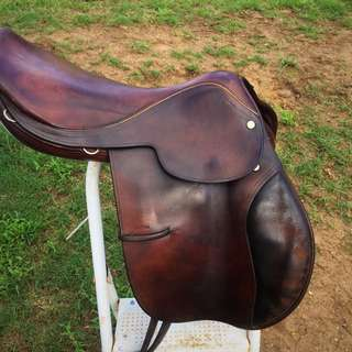 Original Vintage Toptani Handcrafted English Saddle