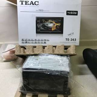 TEAC Car Stereo MP3 Touchscreen 50x4!!!