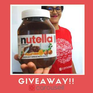 Nutella giveaway
