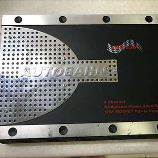 Autobahn 4 Channel Car Amplifier AMP-5504