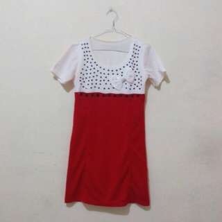 Reprice  Two Tone Dress