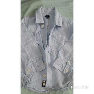 Authentic babyGap Linen Long Sleeve Shirt (Boy)