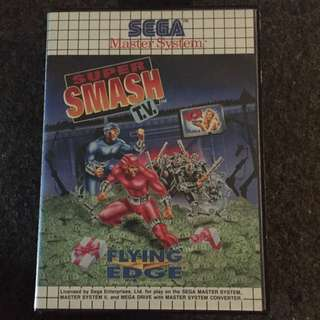 Super Smash Tv - Sega Master System