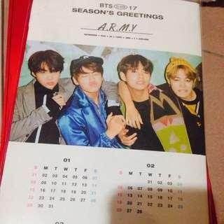 [Quick Sell] BTS Season Greeting 17