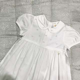 Trudy & Teddy White Embroidered Dress
