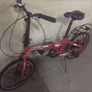 "Element - Police texas folding bike 20"""