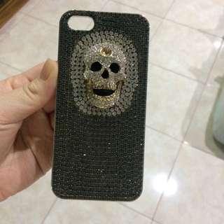Iphone Case Swarovski 3d Skull