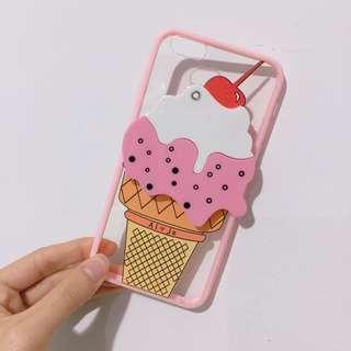 夏日冰淇淋 附鏡子 蘋果手機殼 Iphone6 Iphone6s