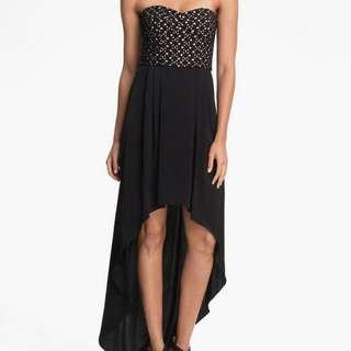 Price Drop!!! Like New BCBGMAXAZRIA High Low Eyelet Dress