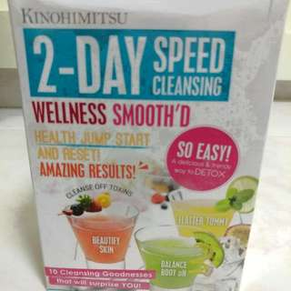 Kinohimitsu Speed Cleansing Detox Wellness Drink