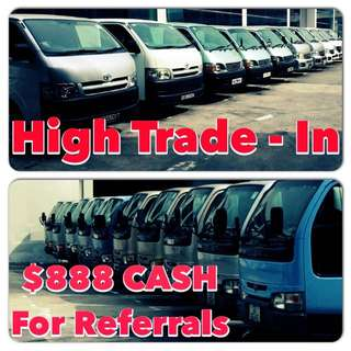High Trade In For All Commercial Vehicles And Cars