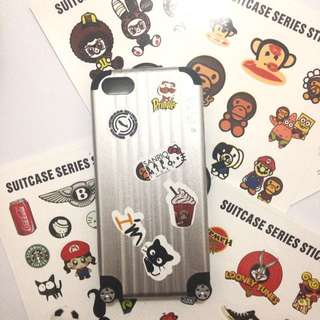 Suitcase Casing (Case Only ya) Iphone 5/5s