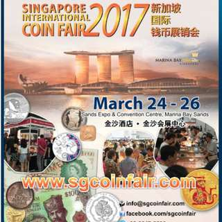 Emporium-Antiquities.com Participates at the Singapore International Coin Fair SICF - 2017, Marina Bay Sands Convention Centre 24-26th March'2017