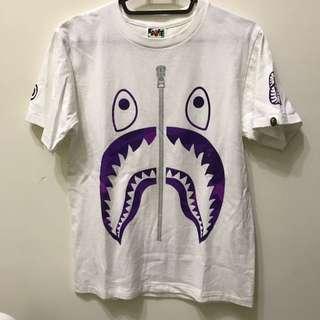 Bape鯊魚 Bape紫色鯊魚