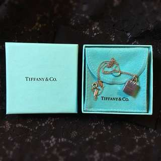 Tiffany & Co Shopping Bag Silver Necklace