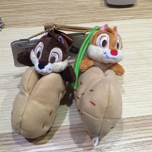 日本迪士尼 奇奇蒂蒂吊飾