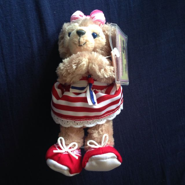 含運 香港 迪士尼 達菲 Duffy 玩偶 磁鐵