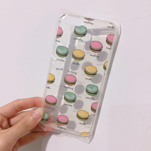 馬卡龍 透明蘋果手機殼 Iphone6 Iphone6s