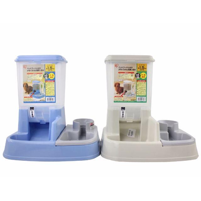 日本 IRIS 自動餵食飲水器  飲水器 兩用碗 寵物 碗 狗 水碗 食碗 狗碗 自動飲水器【狗狗研究所】