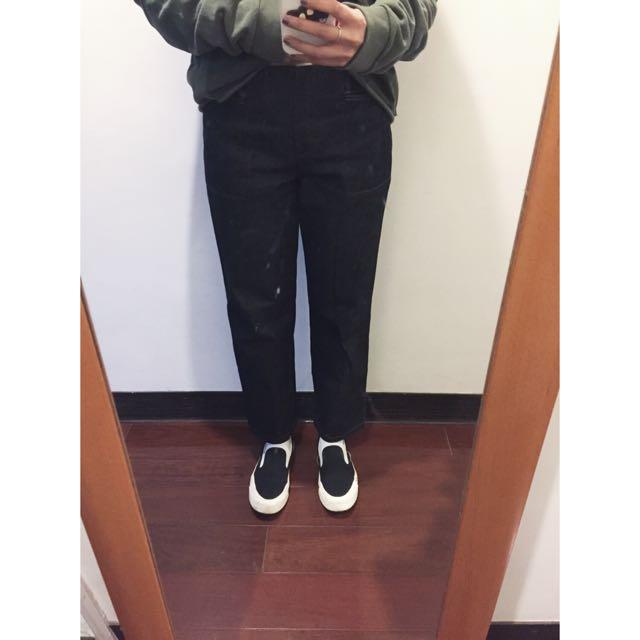 牛仔硬挺工作褲 Made In Korea