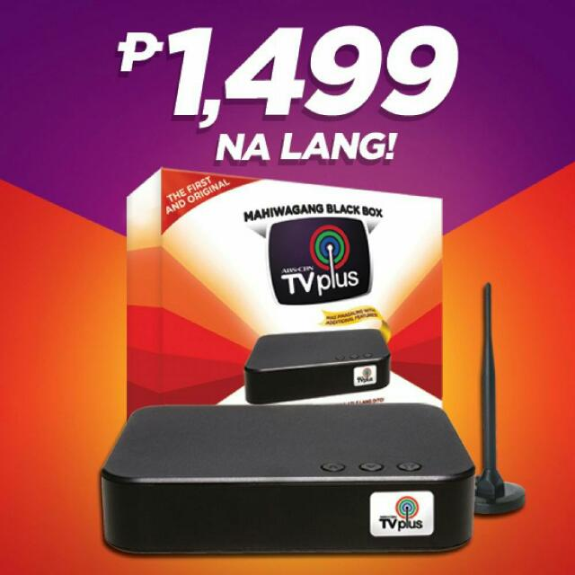 Abs Cbn Tv Plus Electronics Tvs Entertainment Systems On Carousell