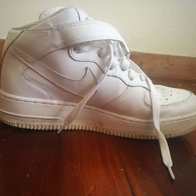 Nike Air Force WHITE Size 38.5(EUR)